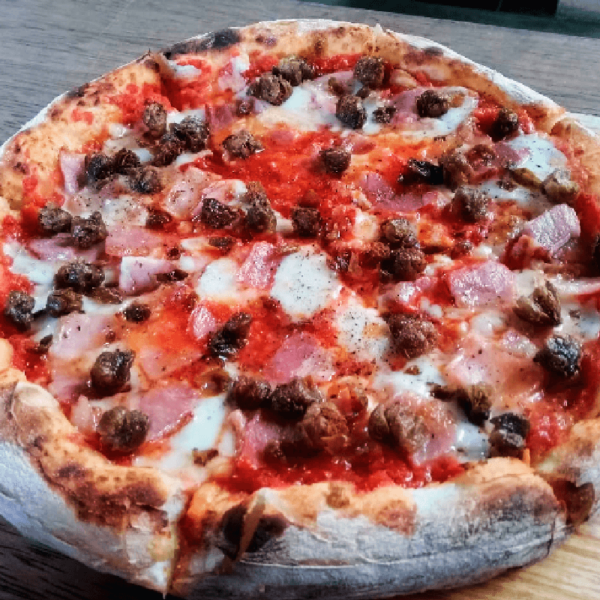 pizza meat ball